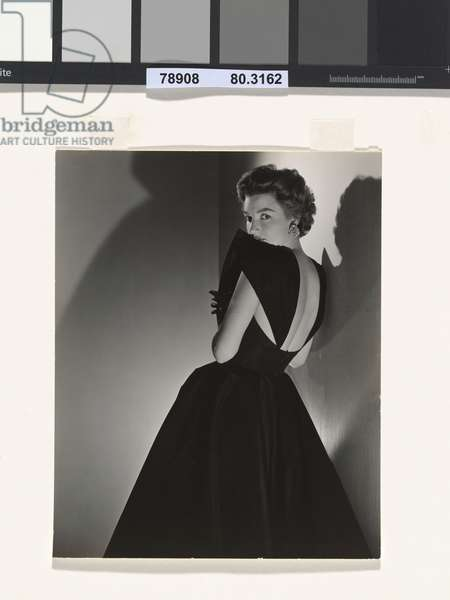 Woman in evening dress, c.1943 (gelatin silver print)