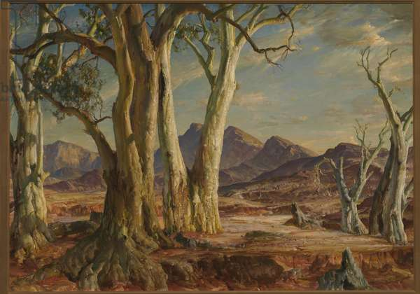 In the Flinders - Far North, 1951 (oil on canvas)