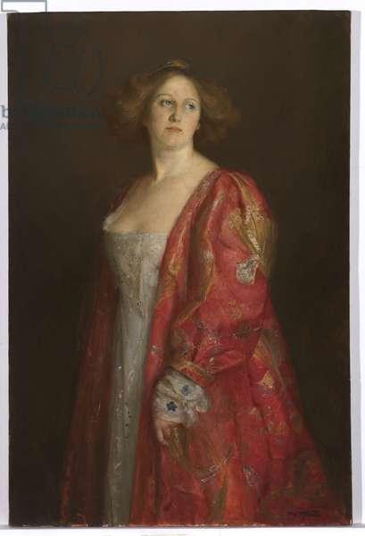 Madame Hartl, c.1909 (oil on canvas)
