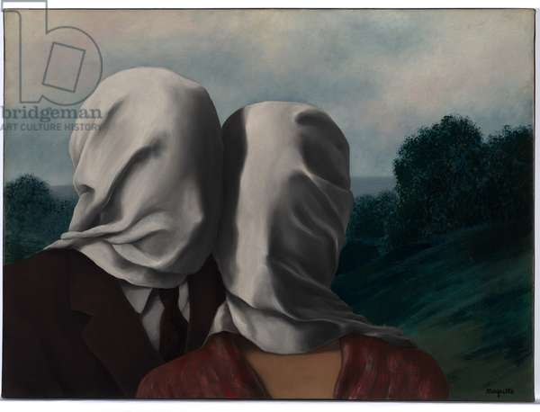 The Lovers, 1928 (oil on canvas)