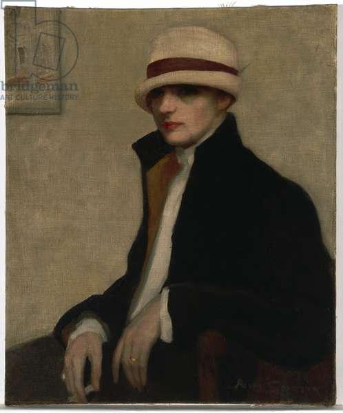 The Parisienne, c.1924 (oil on canvas)