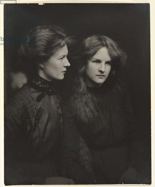 The Sisters, c.1906 (gelatin silver photo)