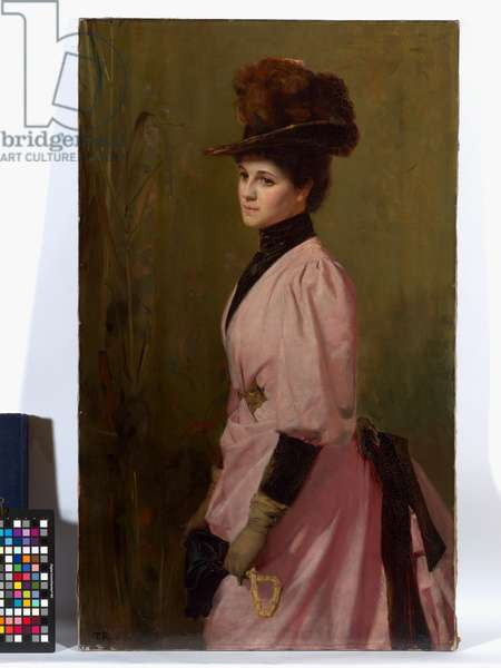 An Australian Native, or Portrait of a Lady, 1888 (oil on canvas)