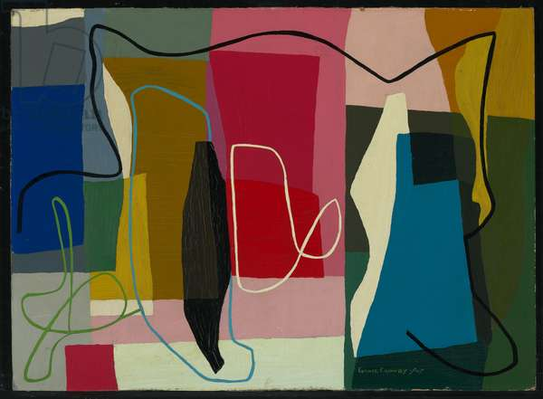 Abstract Painting, 1947 (oil on cardboard)