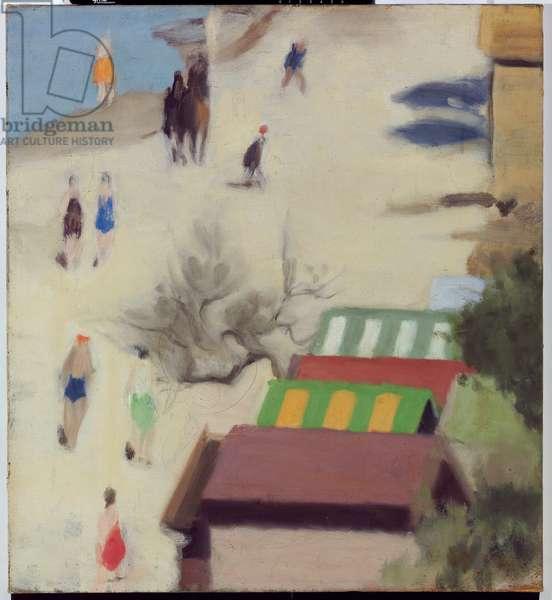 Sandringham Beach, c.1933 (oil on canvas)