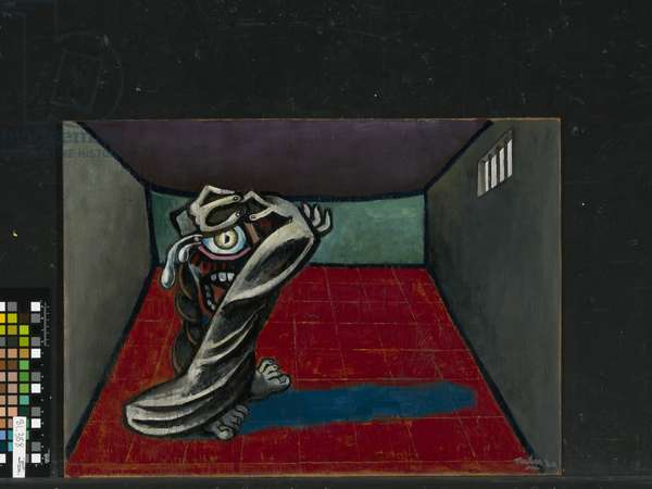 The Possessed, 1942 (oil on plywood)