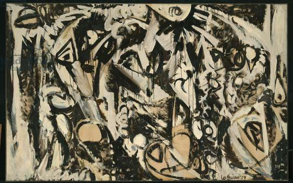 Cool White, 1959 (oil on canvas)
