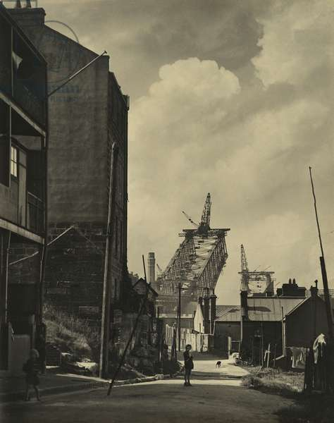 The old and the new, c.1929 (gelatin silver photo)