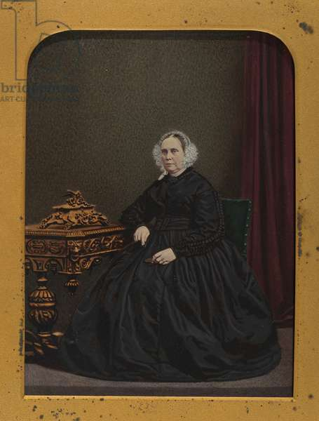 Mrs Mary Nottage, c.1865-70 (albumen silver photo)