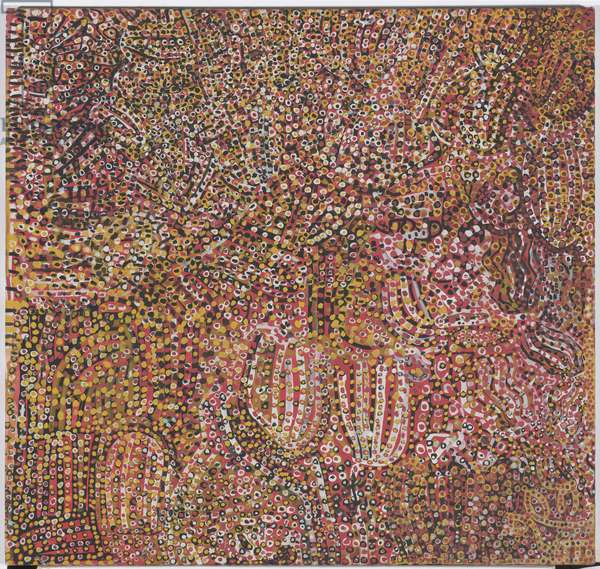 Ntange Dreaming, 1989 (synthetic polymer paint on canvas)