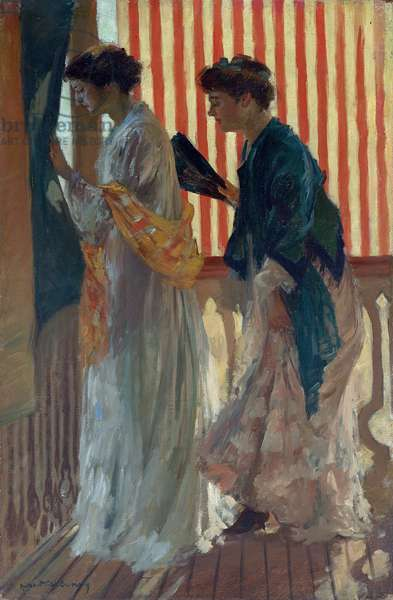 Who Comes? c.1908 (oil on canvas)