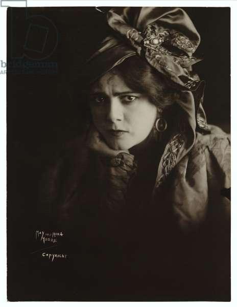 Elizabeth 'Lily' Brayton', c.1916 (gelatin silver photo)