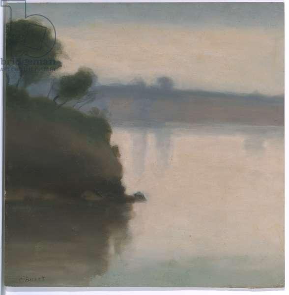 Beaumarais Seascape, c.1925 (oil on cardboard)