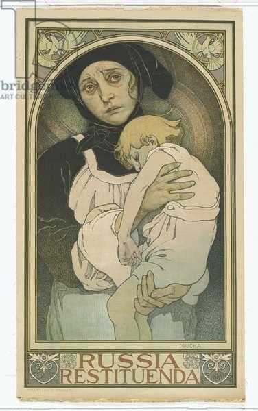 Russia Restituenda, 1922 (colour litho)