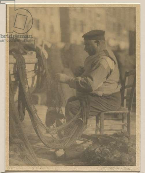 A fisherman of Marseille, 1926-27 (gelatin silver photo)