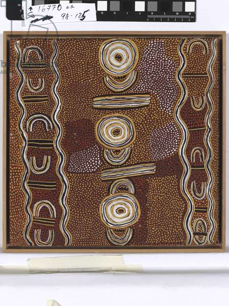 Women's Dreaming, Pintupi People, c.1973 (synthetic polymer paint on composition board)
