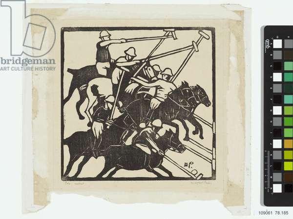 Polo, 1935 (woodcut)