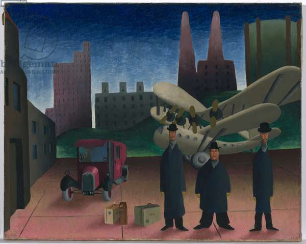 The Diplomats, 1939 (oil on canvas)