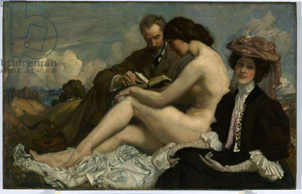 The Sonnet, c.1907 (oil on canvas)