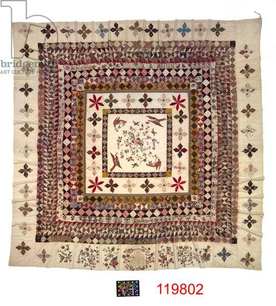 The Rajah Quilt, 1841 (textile)