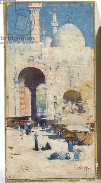 Cairo Street, 1897 (oil on canvas)