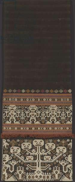 Woman's skirt [lau pahudu], East Sumbanese people, Melolo, Pau domain, Sumba, late 19th-early 20th century (textile)