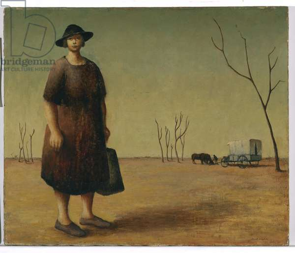 The drover's wife, c.1945 (oil on canvas)