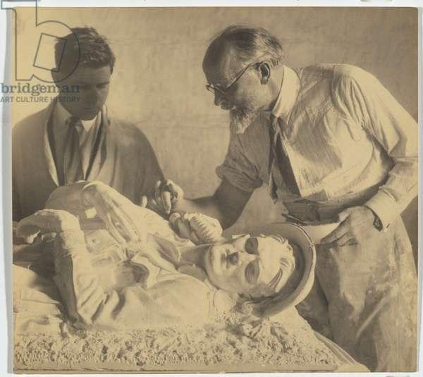 Arthur Murch and George Lambert, c.1929 (gelatin silver photo)