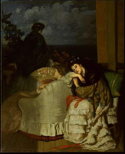 The Distant Song, c.1908 (oil on canvas)