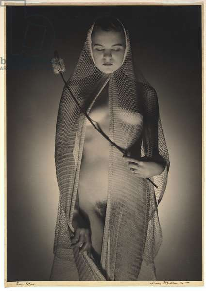 The bride, 1936 (gelatin silver photo)