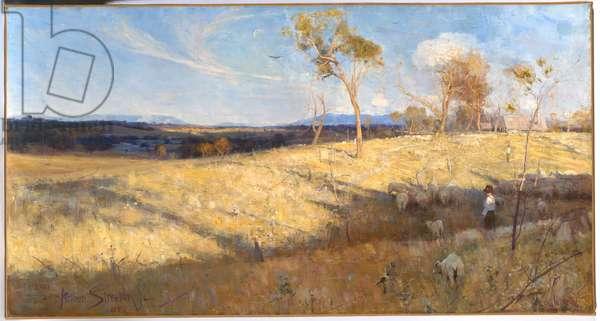 Golden Summer, Eaglemont, 1889 (oil on canvas)