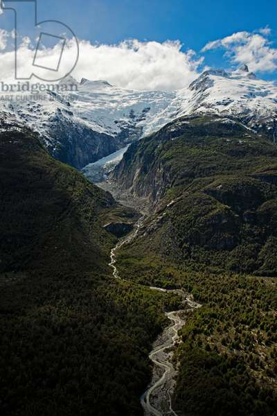 Melting Colonia Glacier in the Northern Patagonian Ice Field (photo)