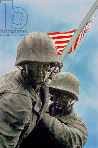The Iwo Jima Monument near Arlington National Cemetery