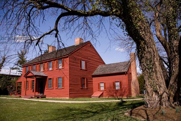 The historic Surratt House Museum, a refuge for John Wilkes Booth (photo)