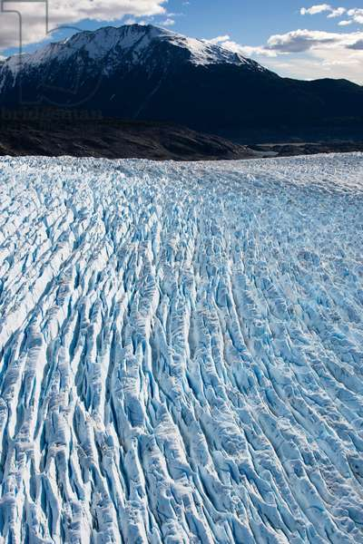 Melting Arenales Glacier in the Northern Patagonian Ice Field (photo)