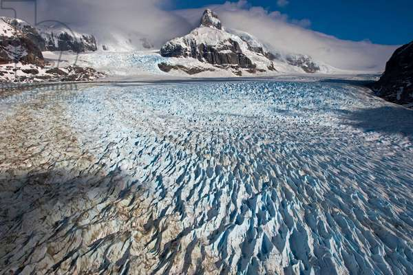 Melting Neff Glacier in the Northern Patagonian Ice Field (photo)
