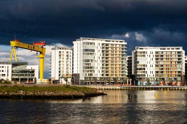 The Titanic Quarter in Belfast (photo)