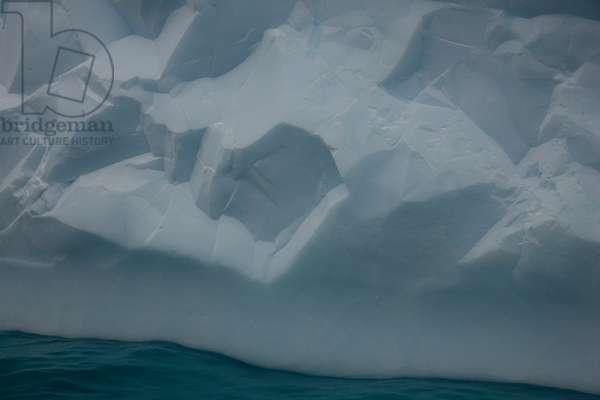 An iceberg floats off South Georgia (photo)