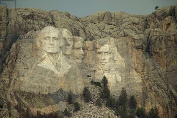 View of Mount Rushmore (photo)