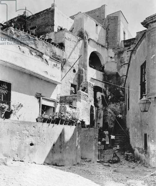 Guanajuato, Mexico, 1916 (b/w photo)
