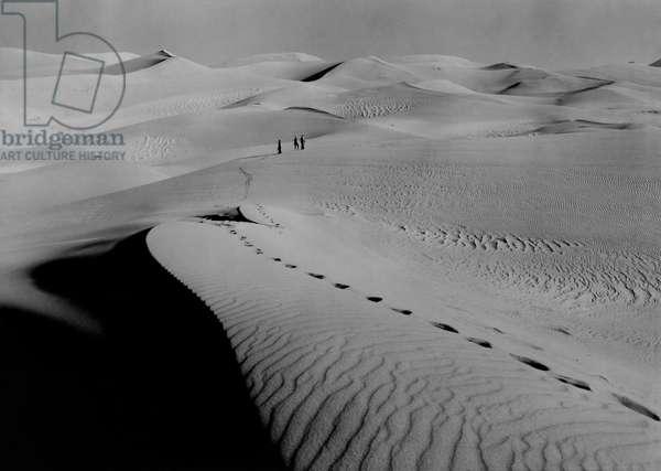 Great Sand Dunes National Monument near Alamosa, Colorado, Great Sand Dunes National Monument, Alamosa, Colorado, 1938 (b/w photo)