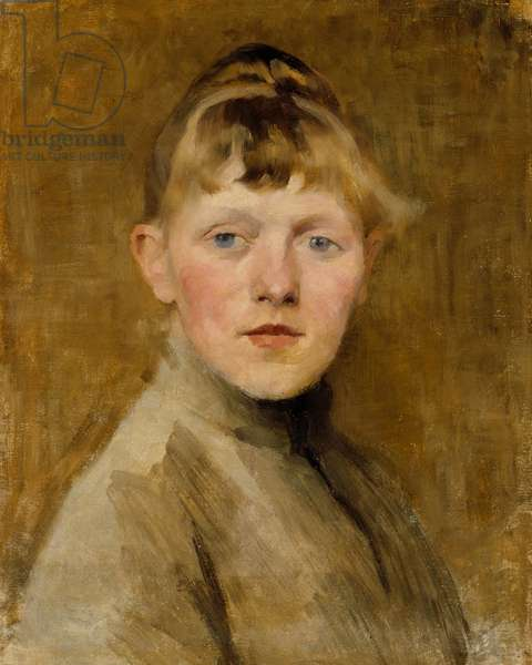 Self-Portrait, 1884-85 (oil on canvas)