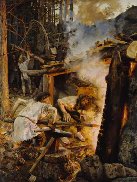 Forging of the Sampo, 1893 (oil on canvas)