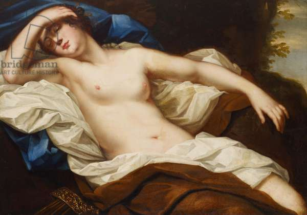 Diana at rest (oil on canvas)