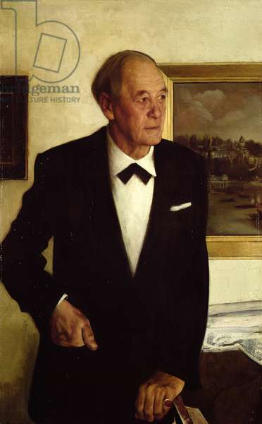 Portrait of Sir Steven Runciman (b.1903)