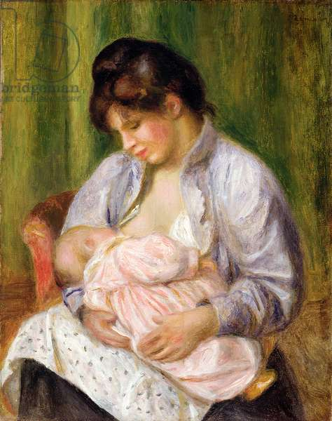 Mother and Child, c.1894 (oil on canvas)