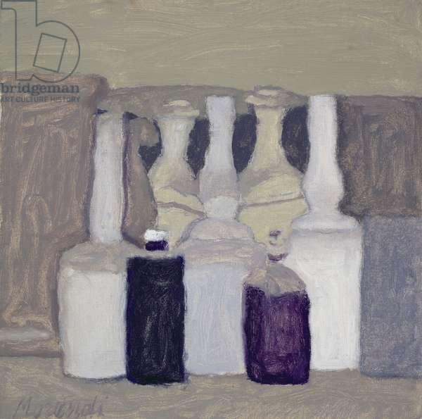 Still Life with Bottles, 1962