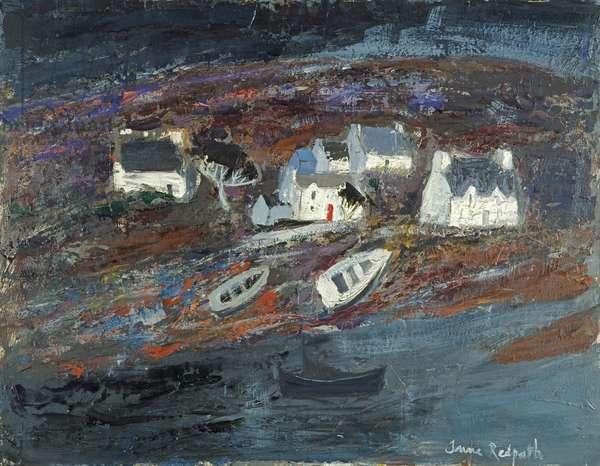 Landscape at Kyleakin, c.1958-60 (oil on panel)