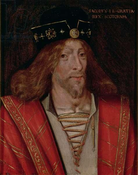 James I (oil on panel)