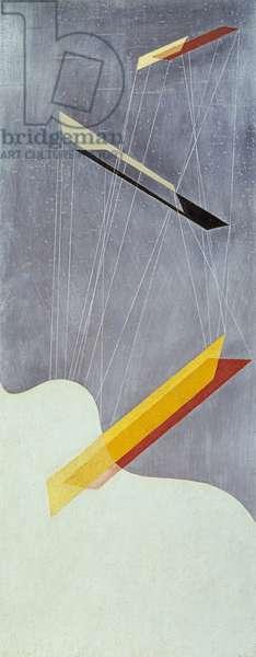 Sil I, 1933 (oil on silberit)